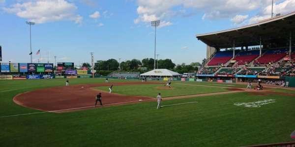 McCoy Stadium, secção: 13, fila: D, lugar: 11