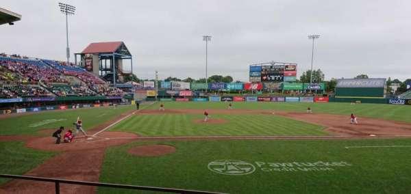 McCoy Stadium, secção: 4, fila: D, lugar: 6