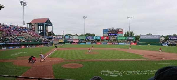 McCoy Stadium, secção: 4, fila: D, lugar: 11