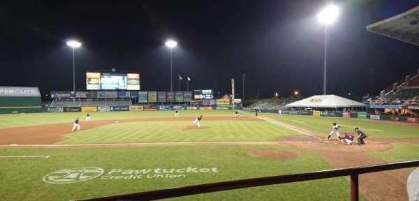 McCoy Stadium, secção: 9, fila: B, lugar: 15