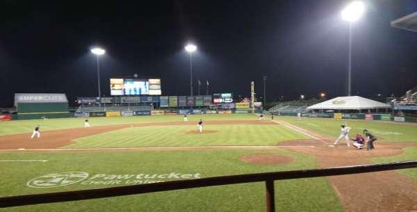 McCoy Stadium, secção: 9, fila: B, lugar: 10