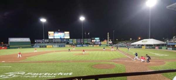 McCoy Stadium, secção: 9, fila: B, lugar: 6