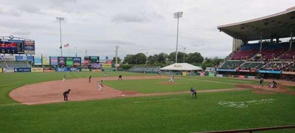 McCoy Stadium, secção: 12, fila: D, lugar: 14