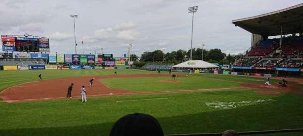 McCoy Stadium, secção: 12, fila: D, lugar: 5
