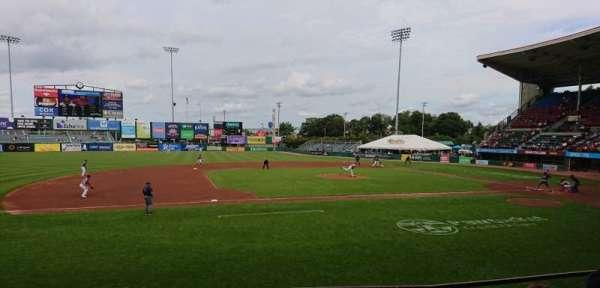 McCoy Stadium, secção: 12, fila: D, lugar: 1