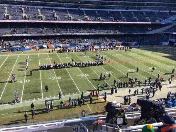 Soldier Field, secção: 341, fila: 7, lugar: 17