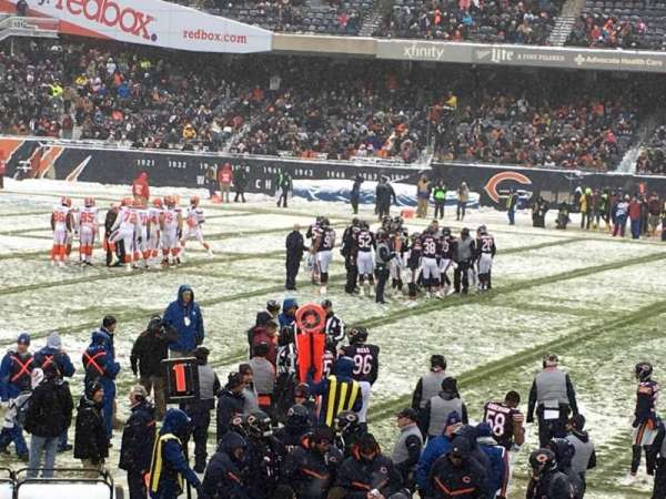 Soldier Field, secção: 138, fila: 13, lugar: 9