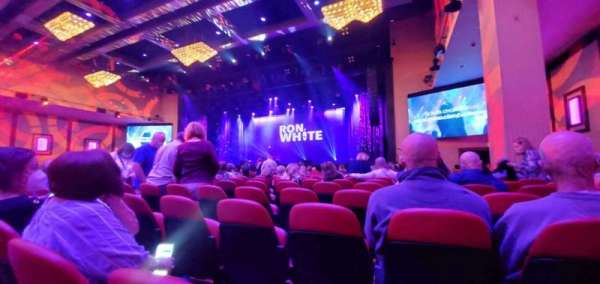 Xcite Center at Parx Casino, secção: C2, fila: T, lugar: 18