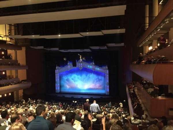 DeVos Performance Hall, secção: Mezzanine, fila: L, lugar: 6