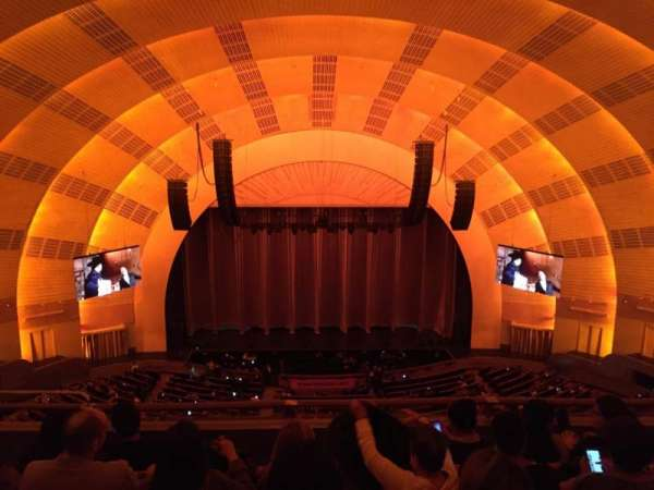 Radio City Music Hall, secção: 3rd Mezzanine 4, fila: E, lugar: 409