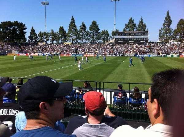 Stevens Stadium, secção: 117, fila: 4