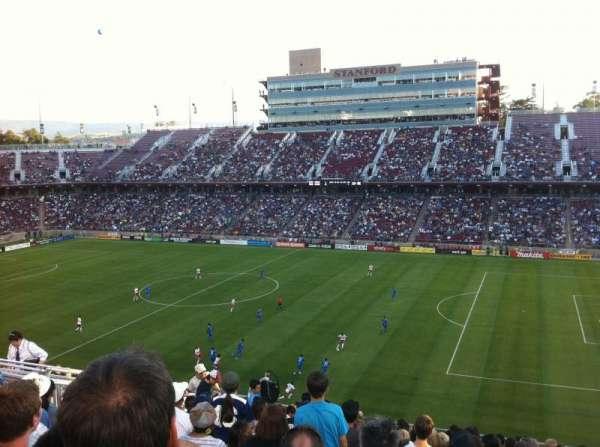Stanford Stadium, secção: 230, fila: 12