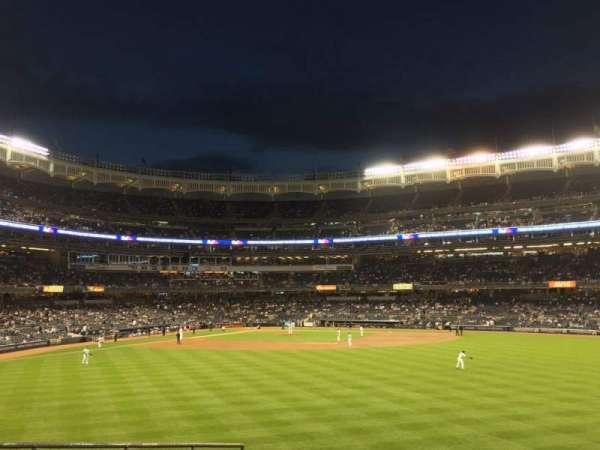 Yankee Stadium, secção: 201, fila: 1, lugar: 5