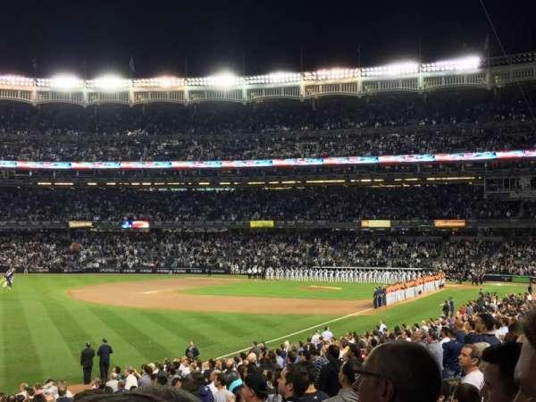 Yankee Stadium, secção: 130, fila: 25, lugar: 1