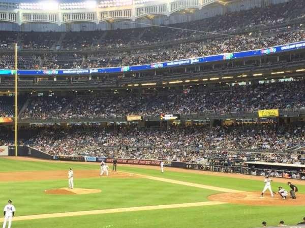Yankee Stadium, secção: 126, fila: 25, lugar: 4