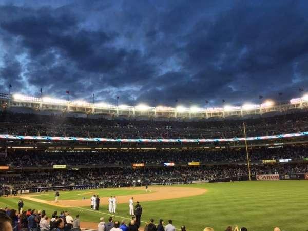 Yankee Stadium, secção: 110, fila: 14, lugar: 2