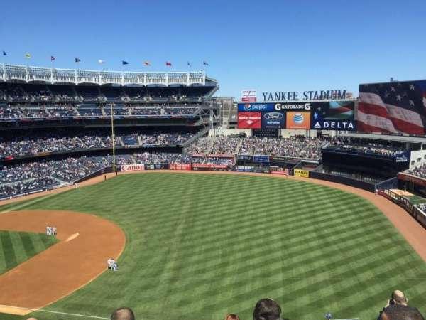 Yankee Stadium, secção: 312, fila: 3, lugar: 3