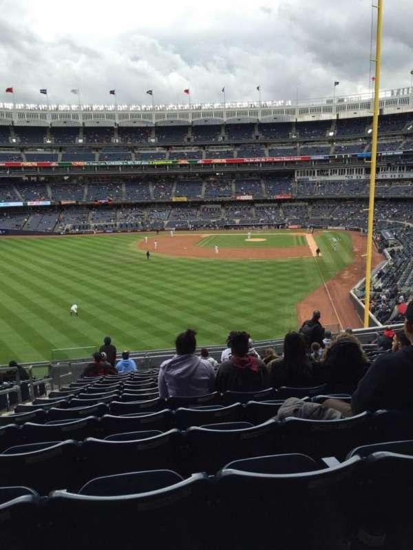 Yankee Stadium, secção: 233, fila: 16, lugar: 15