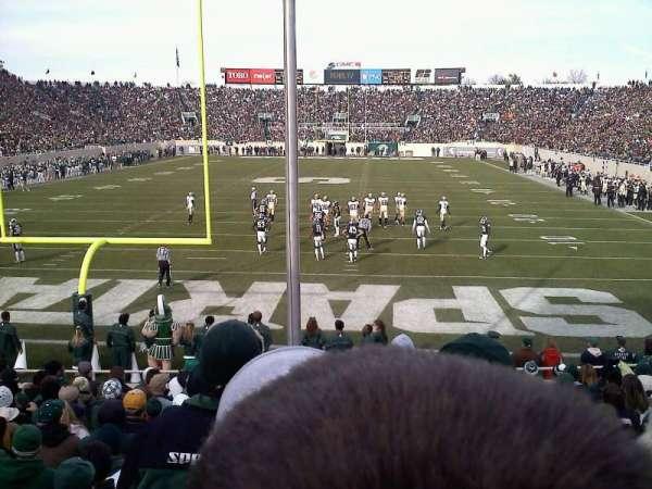 Spartan Stadium, secção: 16, fila: 16, lugar: 21