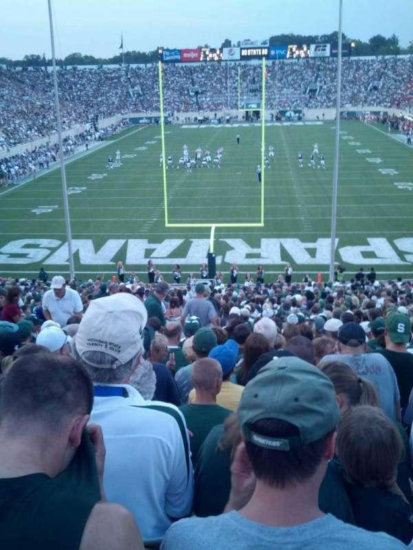 Spartan Stadium, secção: 16, fila: 41, lugar: 35