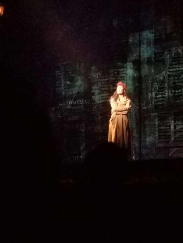 San Diego Civic Theatre, secção: Orchestra, fila: C, lugar: Around 30 (even)