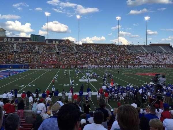 Gerald J. Ford Stadium, secção: 106, fila: 14, lugar: 17