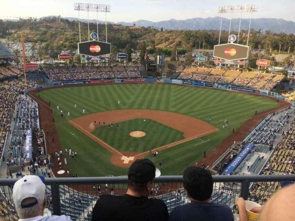 Dodger Stadium, secção: 2TD, fila: C, lugar: 13