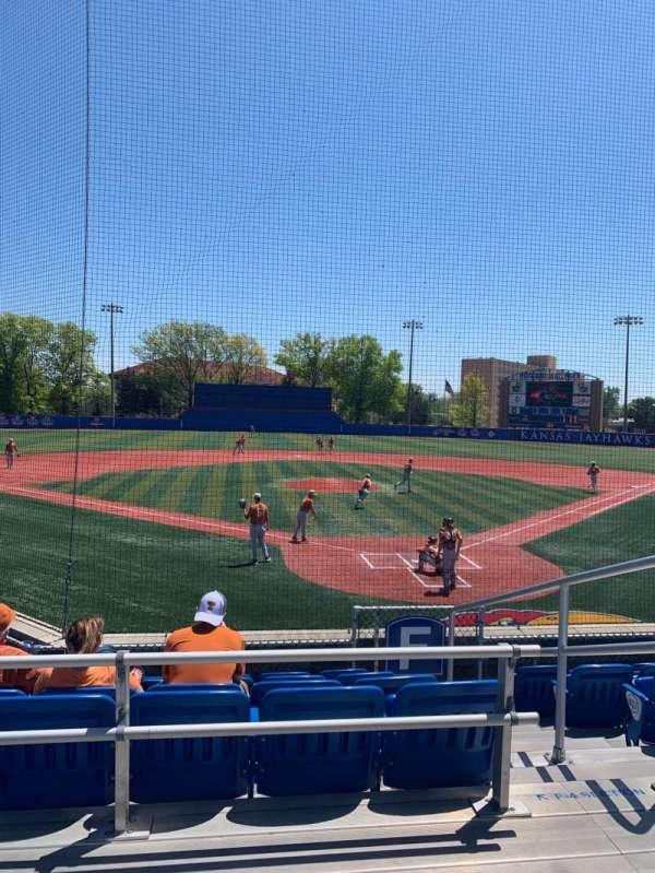 Hoglund Ballpark, secção: C, fila: 2, lugar: 1