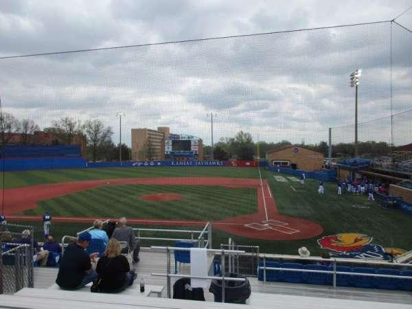 Hoglund Ballpark, secção: D, fila: 4, lugar: 8