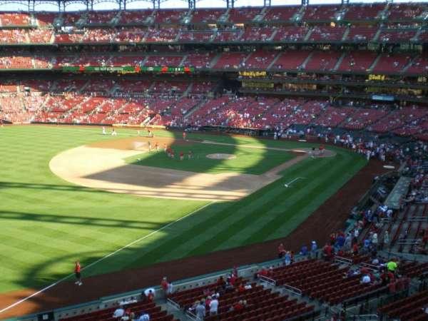 Busch Stadium, secção: 267, fila: 1, lugar: 3