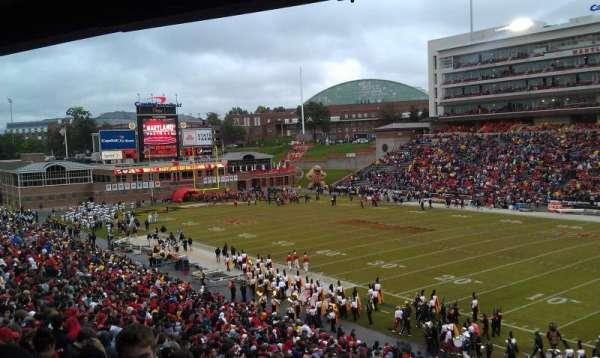 Maryland Stadium, secção: 10