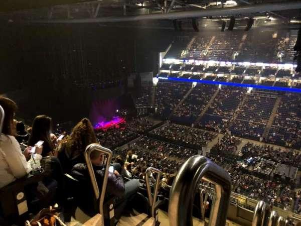 The O2 Arena, secção: 405, fila: O, lugar: 563