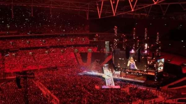 Wembley Stadium, secção: 502, fila: 31, lugar: 50