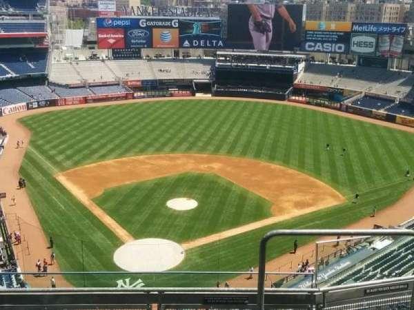 Yankee Stadium, secção: 420A, fila: 5, lugar: 2