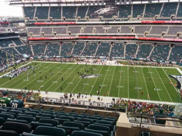 Lincoln Financial Field, secção: 226, fila: 11, lugar: 9