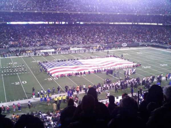 Old Giants Stadium, secção: 232C, fila: 7, lugar: 6
