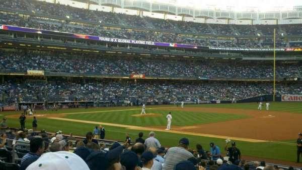Yankee Stadium, secção: 114A, fila: 19, lugar: 3
