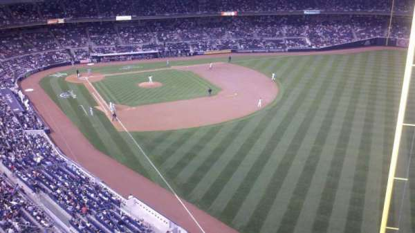 Yankee Stadium, secção: 408, fila: 1, lugar: 6