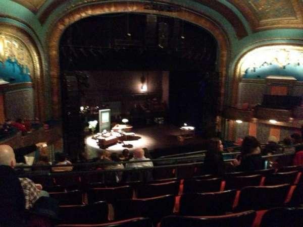 Curran Theater, secção: Mezzanine, fila: H, lugar: 19