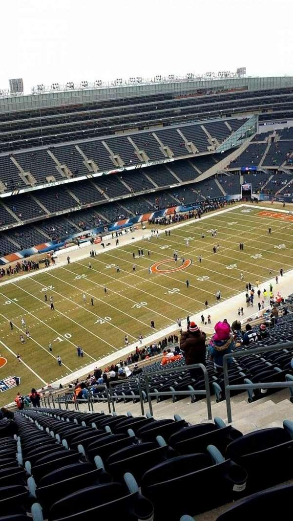 Soldier Field, secção: 443, fila: 37