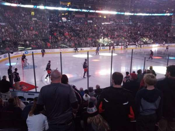 Nationwide arena, secção: 117, fila: K, lugar: 10