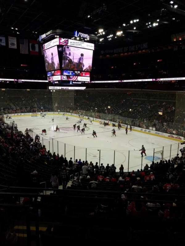 Nationwide Arena, secção: 122, fila: EE, lugar: 11