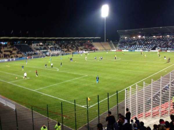 Stade De La Vallée Du Cher, secção: Parcage Visiteur, fila: Placement Li