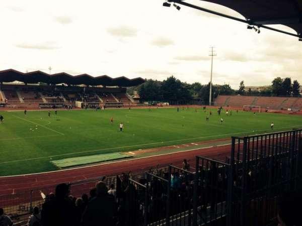 Stade Dominique Duvauchelle, secção: Parcage Visiteur, fila: Placement Li, lugar: -