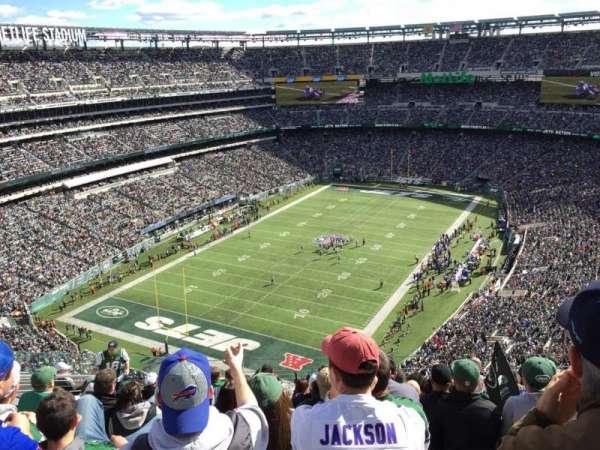 Metlife Stadium, secção: 417, fila: 15, lugar: 17
