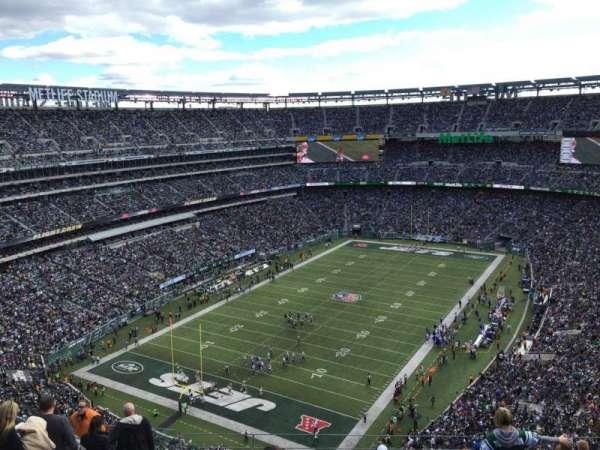 Metlife Stadium, secção: 417, fila: 17, lugar: 18