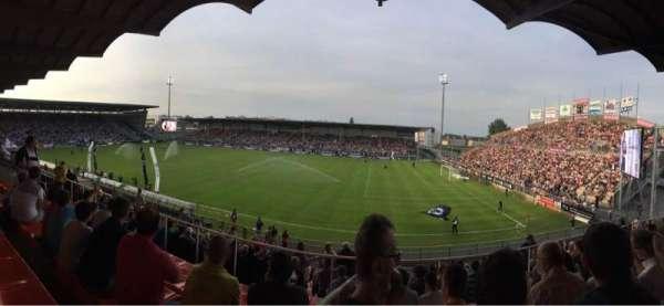 Stade Raymond Kopa, secção: Jean Bouin Laterale, fila: S, lugar: 2