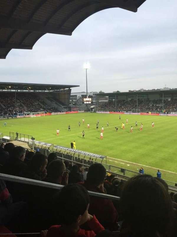Stade Raymond Kopa, secção: Jean Bouin Laterale, fila: S, lugar: 1