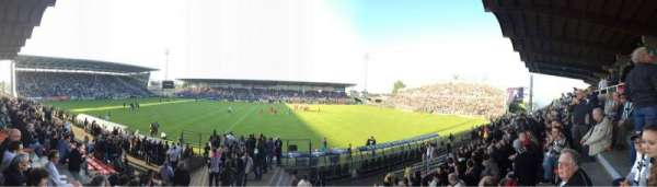 Stade Raymond Kopa, secção: Jean Bouin Centrale, fila: J, lugar: 79