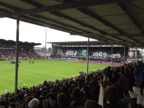 Stade Raymond Kopa, secção: St Leonard Laterale, fila: V, lugar: 169